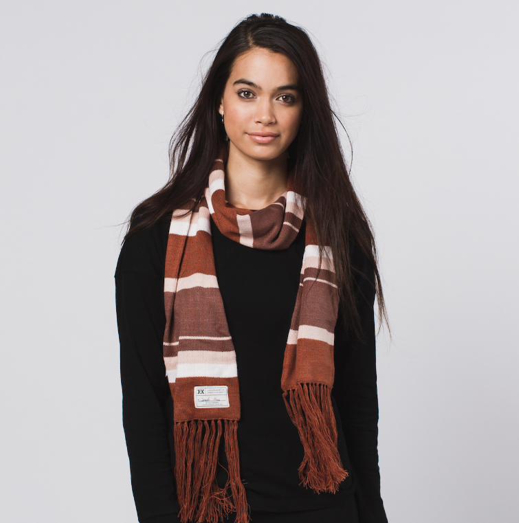 Handmade Phoenix Scarf, Fair Trade - Give Back Goods