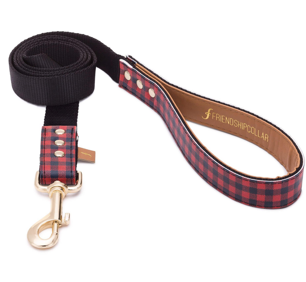 Hipster Pup Dog Leash - Vegan Dog Leash- Feeds 3 shelter pups! - Give Back Goods