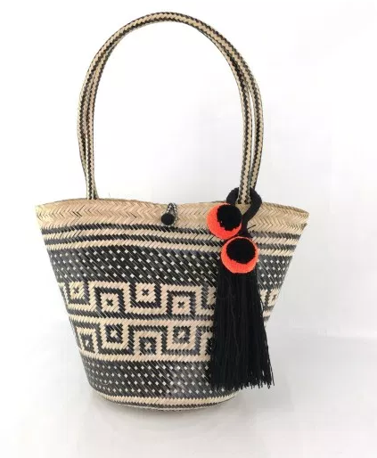Wayuu Basket Bag, Fair Trade, one of a kind, handmade