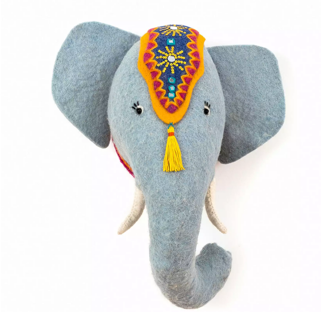Jumbo the Elephant Kids & Baby Wall Decoration- Supports Fair trade Artisans in Nepal