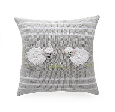 Baby Sheep Pillow, handmade, Fair Trade - Give Back Goods