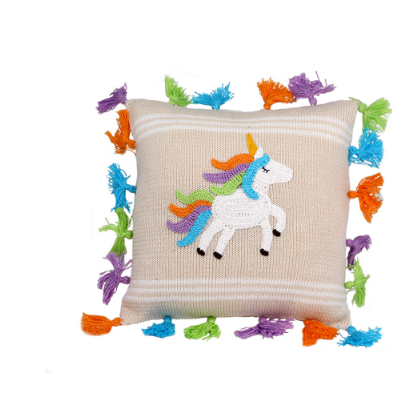 Handmade Baby or Child Unicorn Pillow- Fair Trade