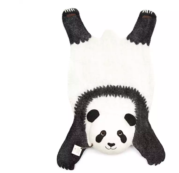 Ping The Panda Kids Rug- Supports Fair trade Artisans in Nepal