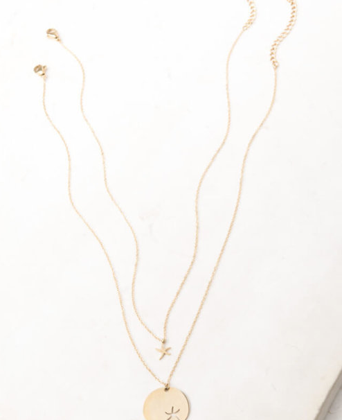 Starfish Necklace Set (gold or Silver)- Gives freedom to exploited women & girls! - Give Back Goods