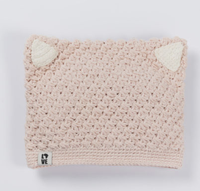 Child and Baby Kitty Cat Hat, Fair trade, Break the Cycle of Poverty - Give Back Goods
