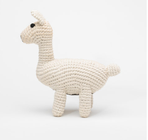 Hand Crocheted Alpaca Stuffed Animal, Fair Trade - Give Back Goods