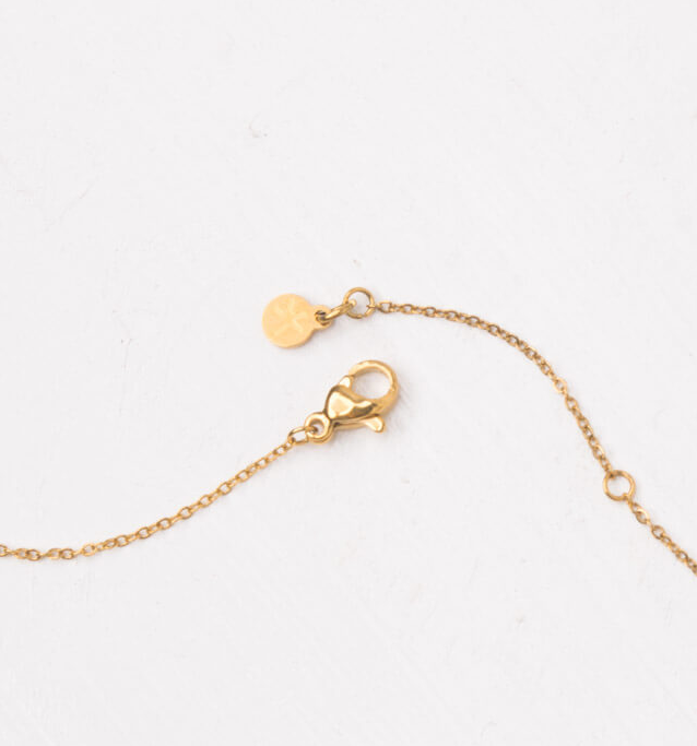 Gold Heart Pendant Necklace, Give freedom & create careers for exploited women! - Give Back Goods