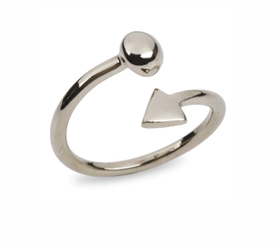 Sterling Silver Her Future Ring - Give Freedom to Women & Girls