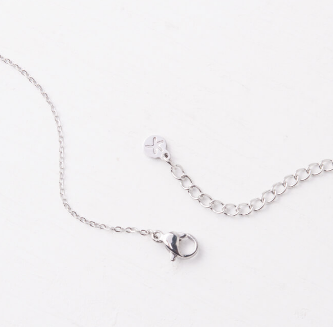 The Silver World Necklace- Give freedom & create careers for exploited women!