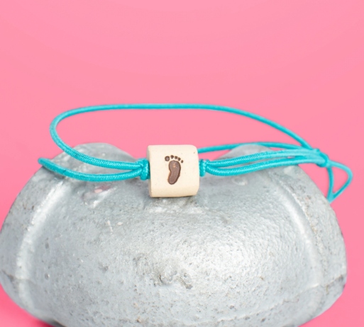 Ceramic Bead Symbol Bracelets- Gives 1 week of Water to an African Family
