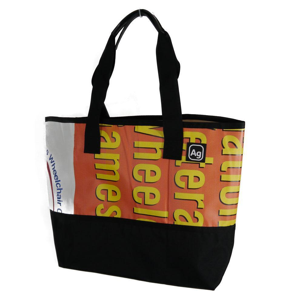 Recycled Billboard Tote Bag, Medium -  Made in the USA - Saves Landfill Space!