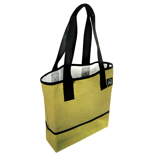 Large Recycled Billboard Tote Bag,  Made in the USA - Saves Landfill Space!