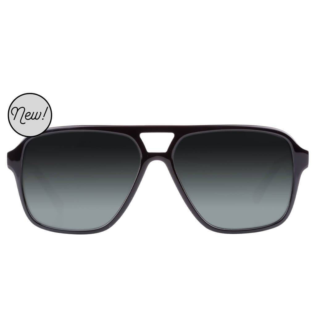 Eco-Friendly Renewable Acetate Sunglasses- Bruneau- supports Health & Vision Education Projects