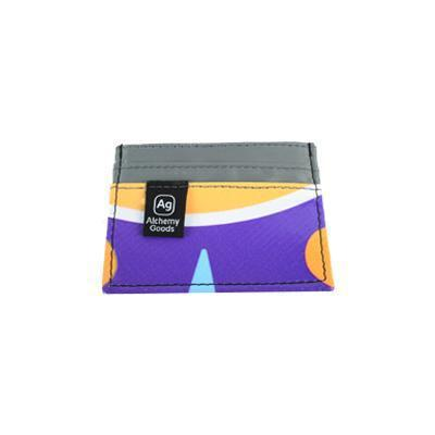 Upcycled Banner Wallet - Eco-friendly- Made in the USA - Saves Landfill Space!