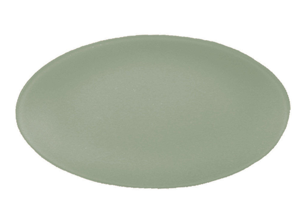 "Recycled Glass 12"" x 19"" Oval SeaGlass Platter, Eco Friendly - Give Back Goods"