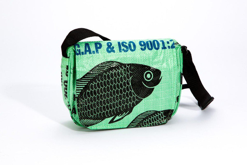 Repurposed Small Cross Body Bag- Eco-Friendly, Sustainable and Fosters Local and Global Communities