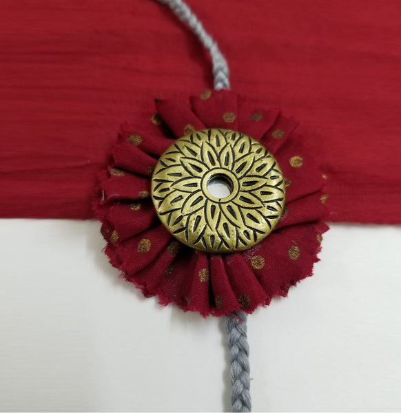 Rakhi - Set of 2 Rakhi The Neem Tree Sonal Kabra Buy Shop online premium luxury fashion clothing natural fabrics sustainable organic hand made handcrafted artisans craftsmen