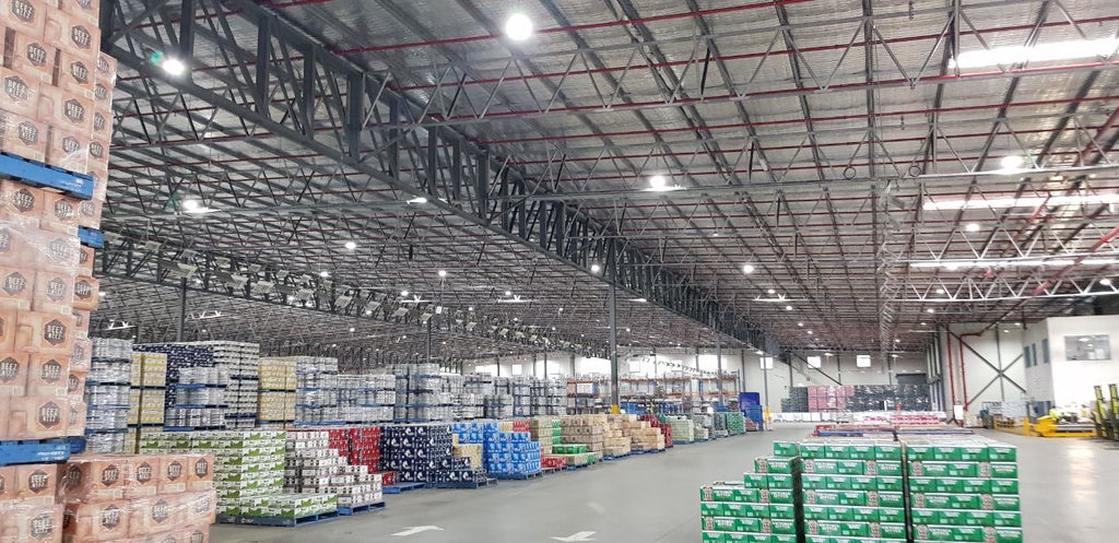 Massive LED highbay install in Forestfield