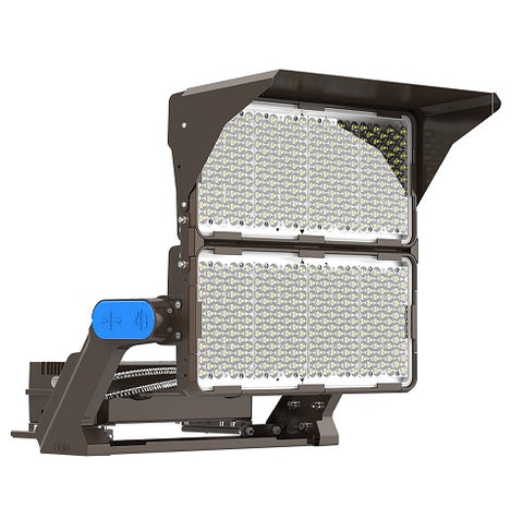 Integrated Power high powered led sports floodlights