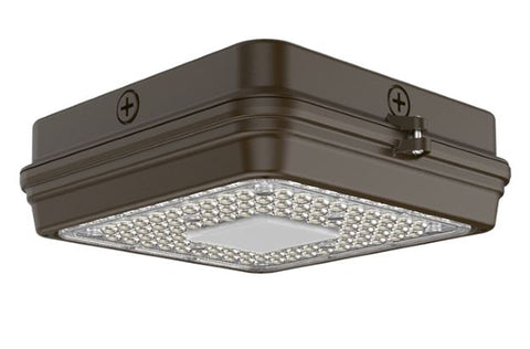 CA Series Surface Canopy with Sensor - 40W - Integrated Power