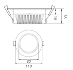 DL Series LED Downlight - 13W