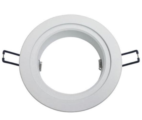 DL Series 140mm White Adaptor Ring - 13W - Integrated Power