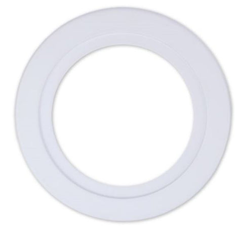 DL Series 240mm White Adaptor Ring - 25W - Integrated Power