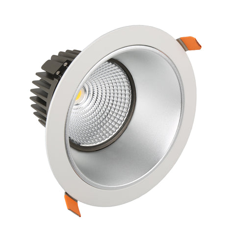 DLA Low Glare Series LED Downlight - 25W - Integrated Power