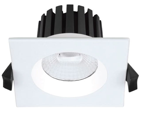 DLA Low Glare Series LED Downlight - 8W SQ - Integrated Power