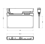 Integrated Power_Emergency exit blade dimensions