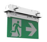Integrated Power_Emergency exit blade recessed