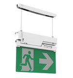 Integrated Power_Emergency exit blade suspended