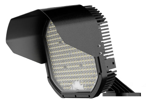 FCS Series Compact LED Sports Floodlight - 600W - Integrated Power