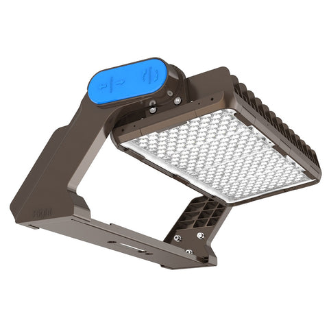 HF2 Series LED Floodlights_asymmetrical optics