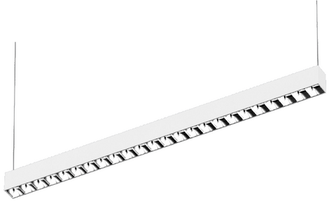 LB Series Low Glare Linear LED Batten - 36W, 1200mm - Integrated Power