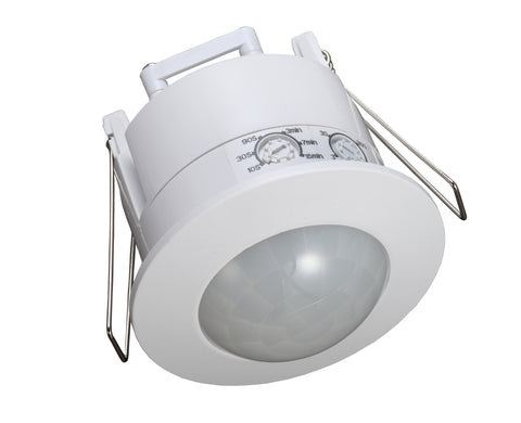 Indoor Motion Sensor - Recessed Mount - Integrated Power