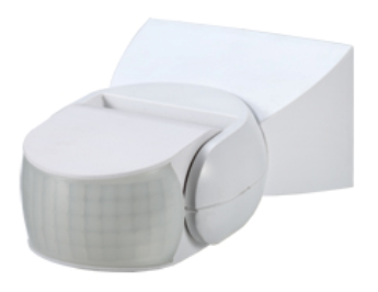 Outdoor Motion Sensor - Infrared - Integrated Power