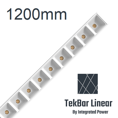 TekBar linear-low glare white 1200mm