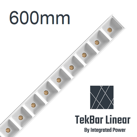 TekBar linear-low glare white 600mm