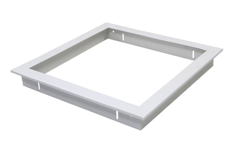 PA Panel Series Recessed Kit - 600x600mm - Integrated Power