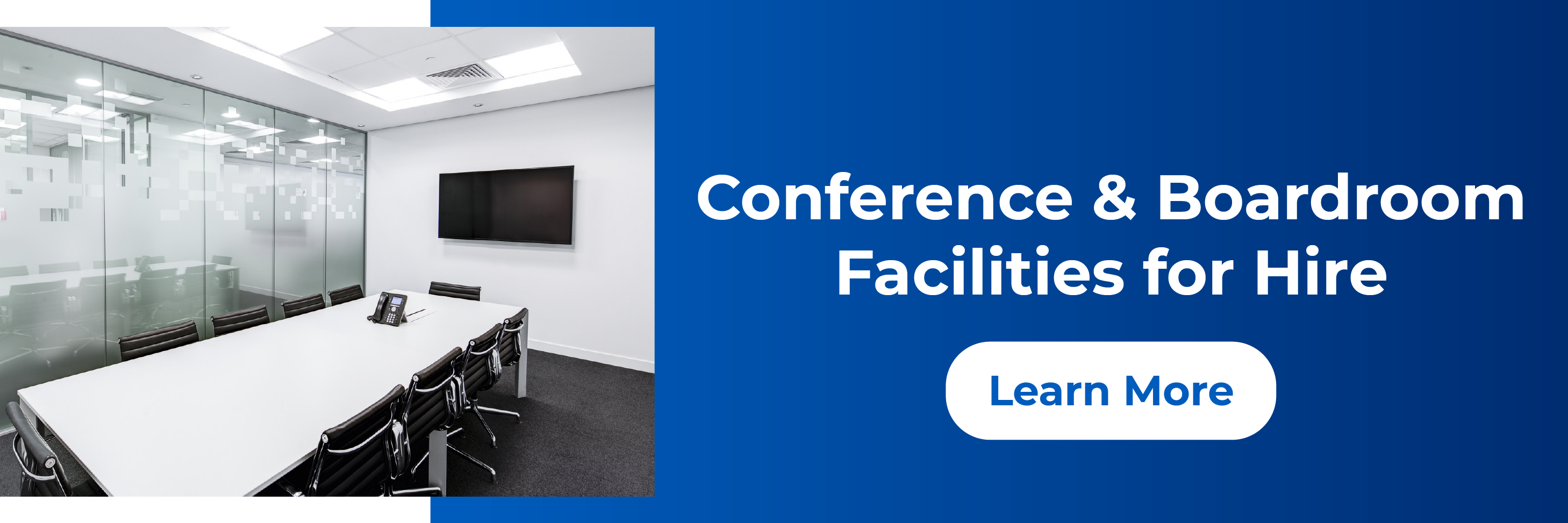 Conference and Boardroom Facilities for Hire