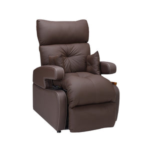 Cocoon Lift Recliner Chair - 2 Motors - Chocolate