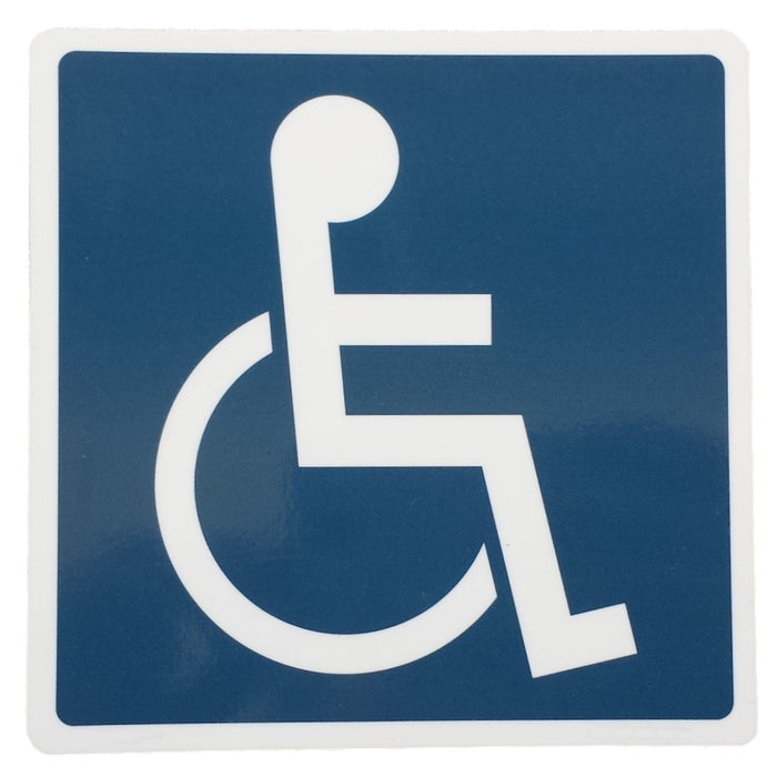 Plastic Disability Sign