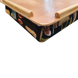 Wooden Lap Tray side view