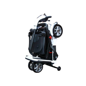 Pride Mobility Quest Foldable Mobility Scooter Folded