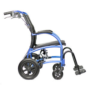 STRONGBACK Excursion 12 Transit Wheelchair Side
