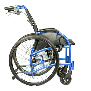 STRONGBACK 24 Self Propelled Wheelchair Side