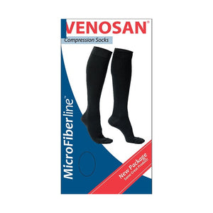 Venosan MicrofibreLine Women Closed Toe Black