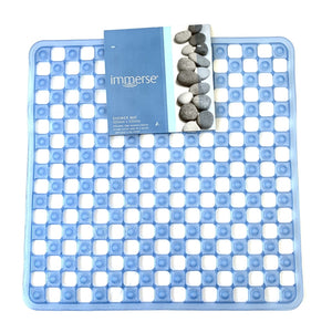 Immerse Shower Mat Blue