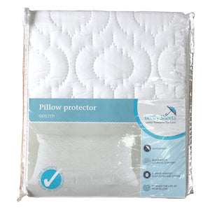 Brolly Sheets Waterproof Pillow Protector / Quilted